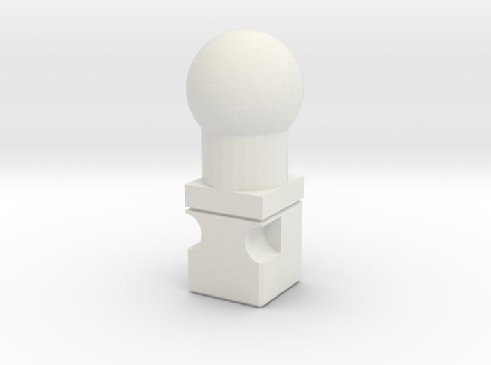Titans Return to 6mm neck adaptor 3d printed