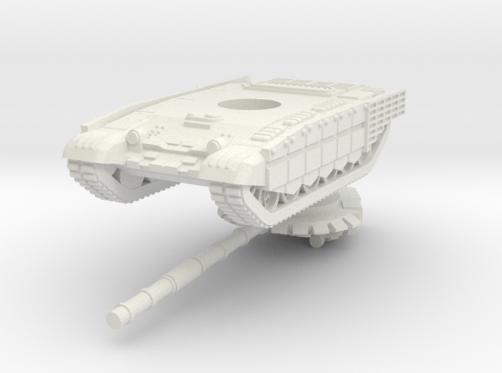 1/100 T-72B3M (cage armour) 3d printed