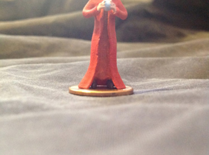 Wizard2 3d printed A painted example of this miniature