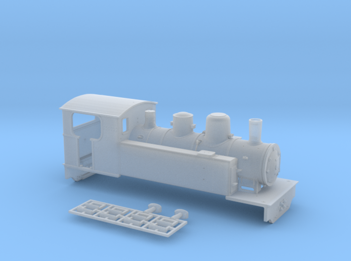 Corpet 040 VFV #22 - HOm - 1:87 3d printed