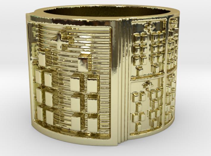 BABA OBARA MEYI Ring Size 13.5 3d printed