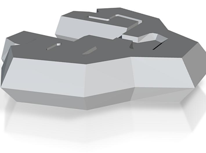 Federal Bomber (FTL) 3d printed