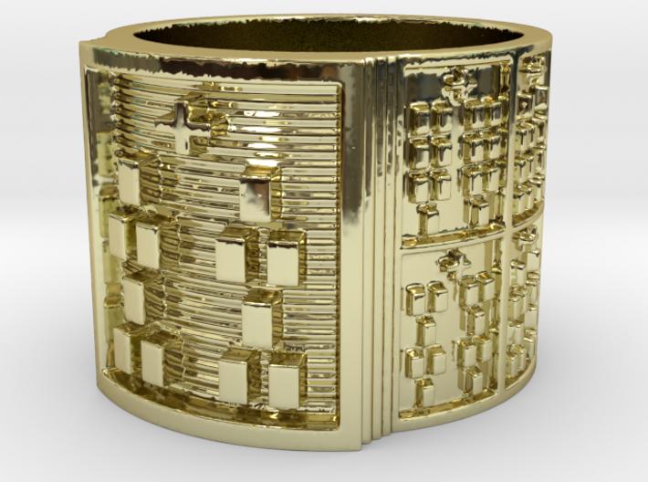 BABA OSHE MEYI Size 13.5 Ring Size 13.5 3d printed