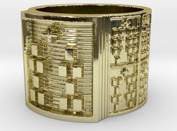 BABA OSHE MEYI Ring Size 14 3d printed