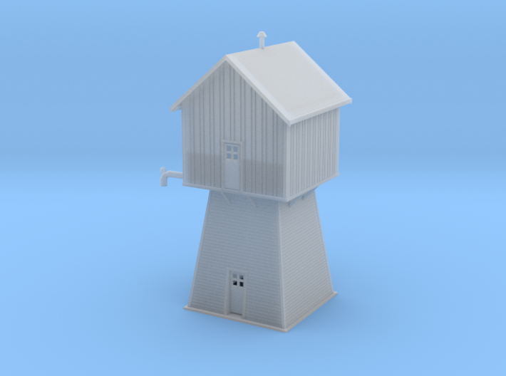 Sweden Emadalen Water Tower Z Scale 3d printed Sweden Water Tower Z scale