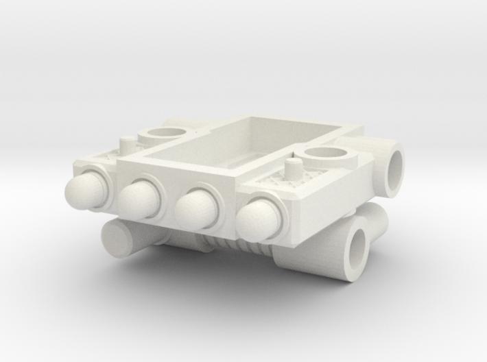 Titan Master Missile Turret (5mm) 3d printed