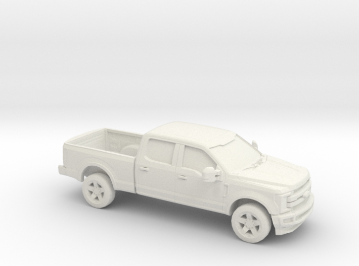 1/87 2017 Ford F-Series Crew/Reg. Bed 3d printed