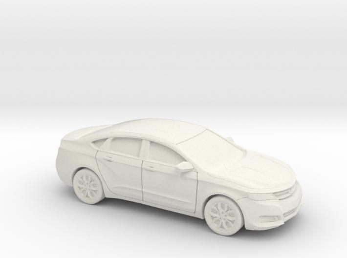 1/64 2013-17 Chevrolet Impala Sedan 3d printed