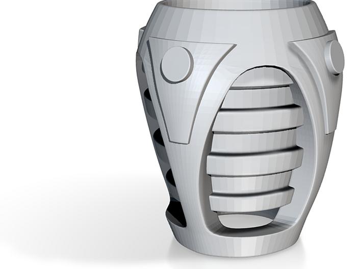 Sci-fi cup 02 3d printed