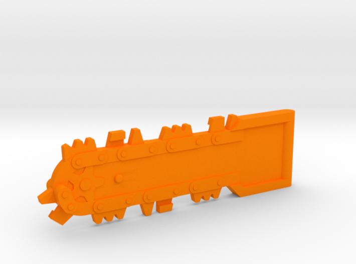 M.A.S.K. Bulldog chainsaw 3d printed