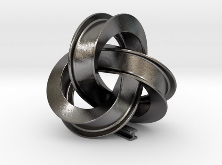 Girder Trefoil Knot 3d printed