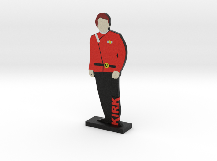 Captain James Kirk = DESKAPADES = 3d printed
