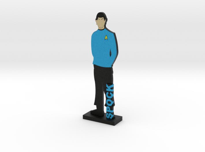 First Officer Spock = DESKAPADES = 3d printed