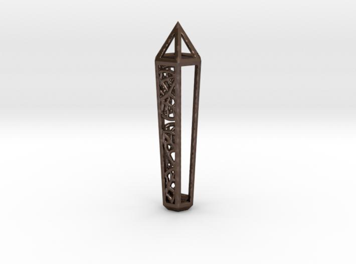 Leaf Crystal 3d printed