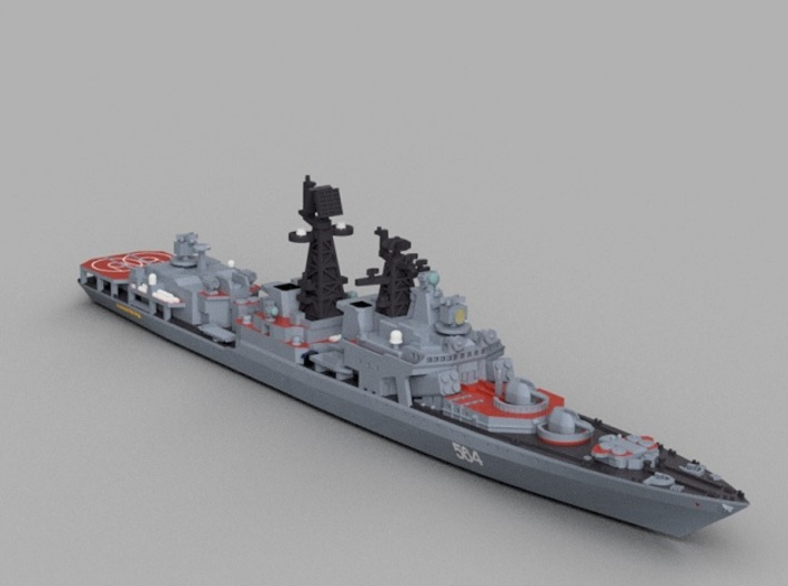 1/2000 RFS Admiral Tributs 3d printed Computer software render.The actual model is not full color.