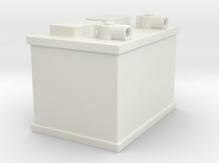 12-volt Battery 3d printed