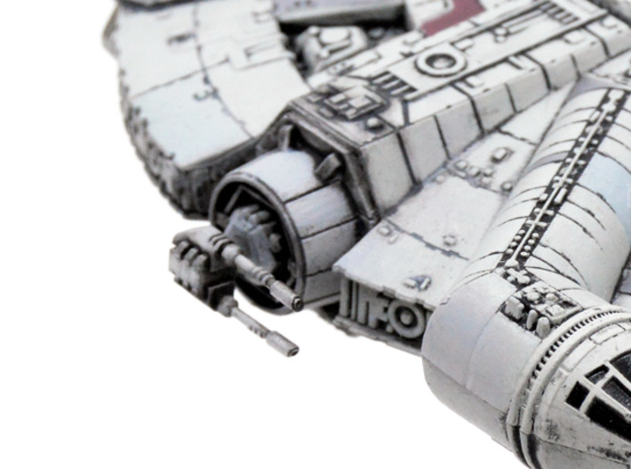 YT-1300 Weapon Mega-pack  3d printed