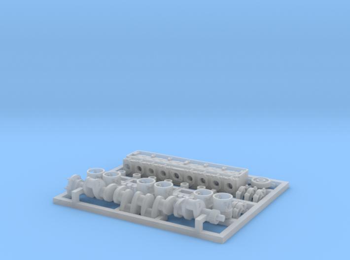 Hotchkiss H39 - Engine, internal components 3d printed