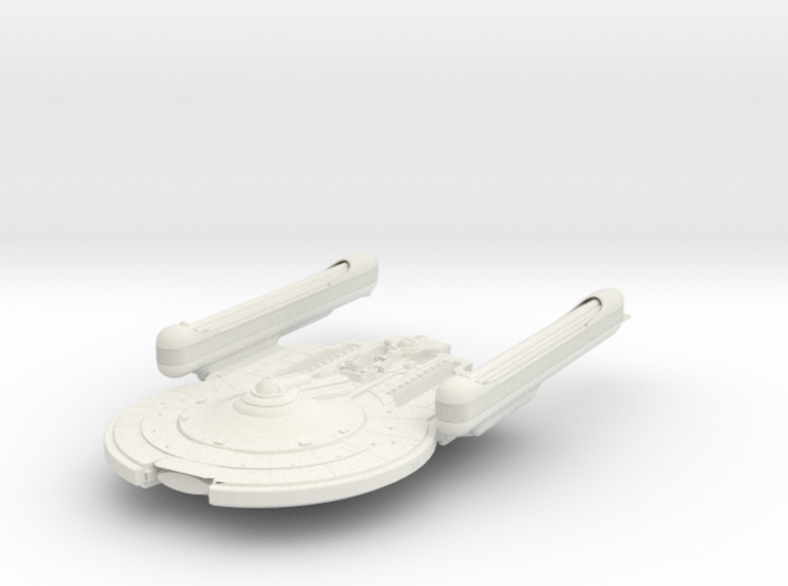 Sparta Class Destroyer 3d printed