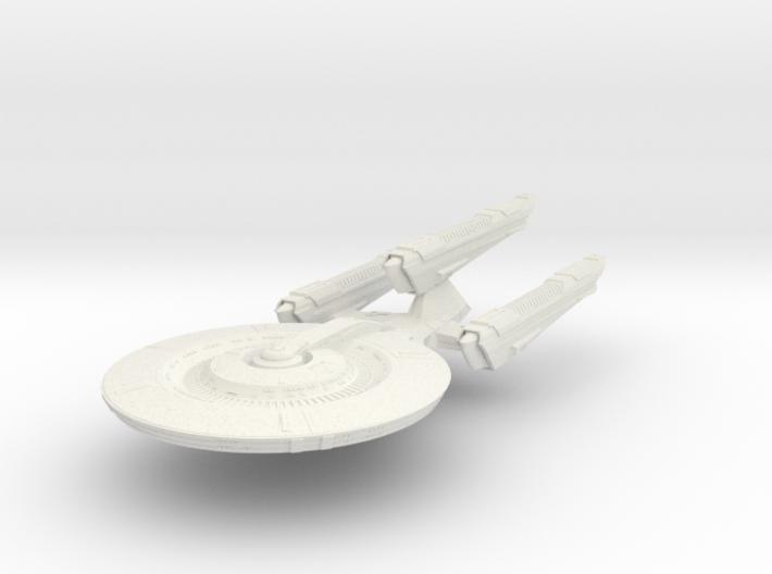 BattleHood Class Refit DreadnoughtCruiser 3d printed