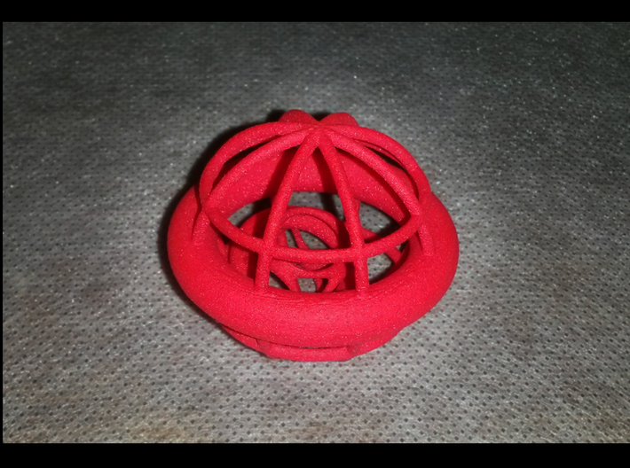 Gyrocage 3d printed