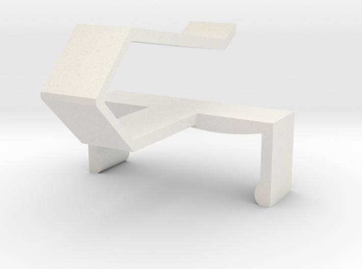 KERUI Remote Visor Clip 3d printed