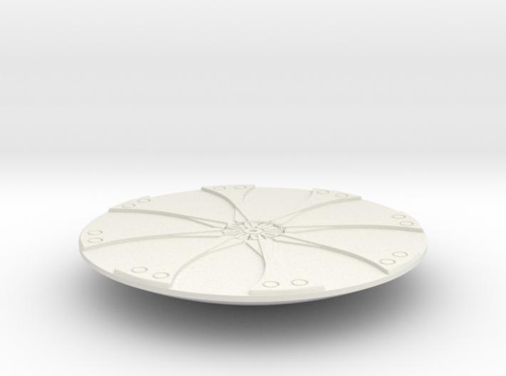 Inner Flower lowered 3d printed