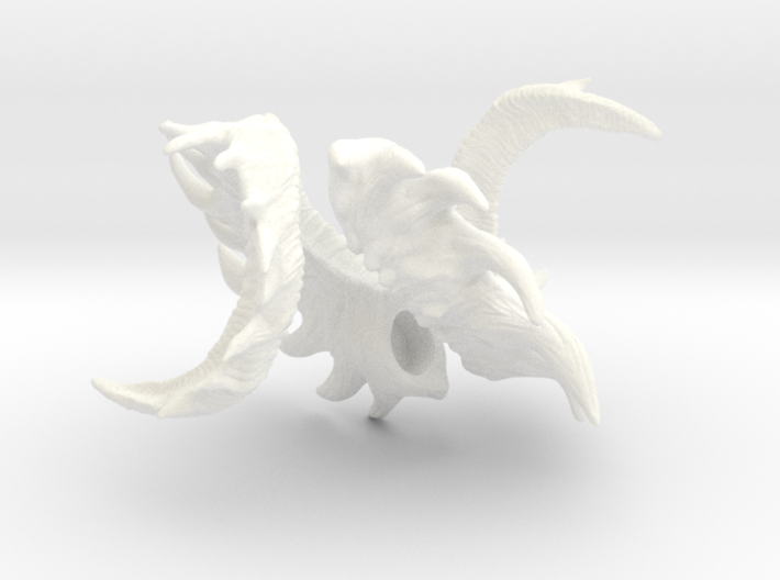 Spiked BJD Horns 3d printed