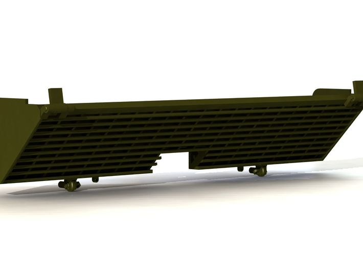 Late M4A2 D70765 DEFLECTOR 3d printed Rendering of CAD model
