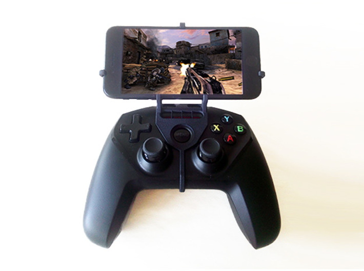 Steelseries Nimbus & Apple iPad mini Wi-Fi - Front 3d printed Nimbus with iPhone 7 - Front rider - Front view
