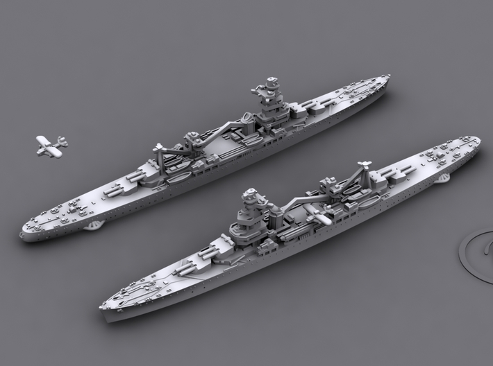 1/1800 MN CA Algerie [1941] 3d printed Computer software render