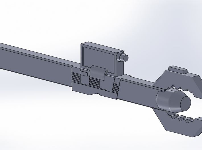 Sonic Wrench version B 3d printed