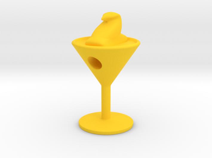 Peeptini Charm 3d printed