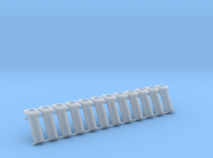 CE Smith Rod Holder, 1:12 scale 3d printed
