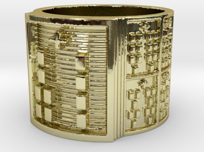 OGBEROSO Ring Size 13.5 3d printed
