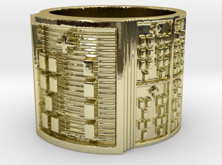 OGBETUMAKO Ring Size 11-13 3d printed