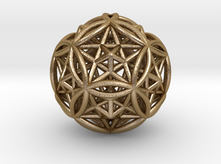 Dodecasphere w/ Icosahedron & Star Faced Dodeca 3d printed