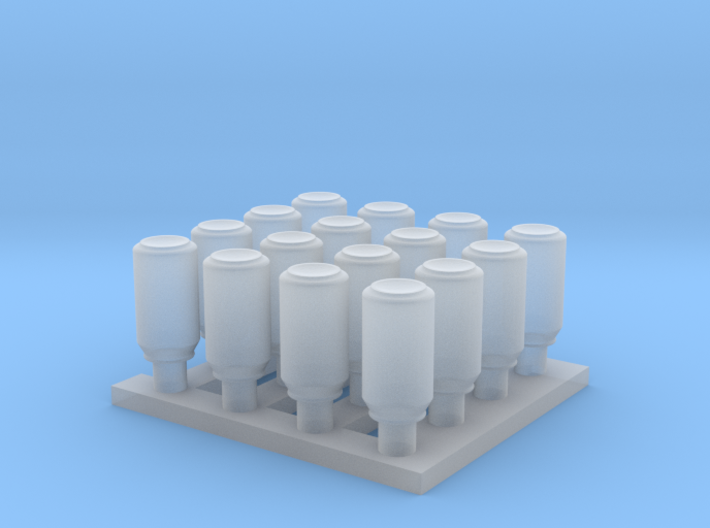 1/35 Cans Small Set MSP35-058 3d printed