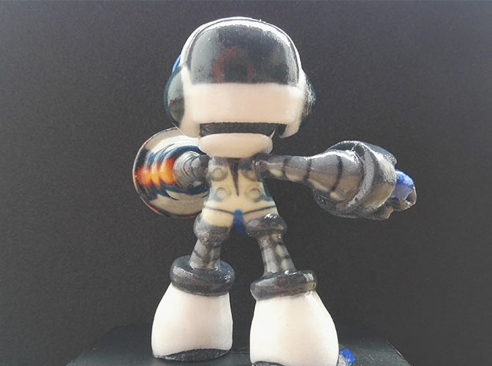 Beck (Mighty No. 9) 3d printed Beck back
