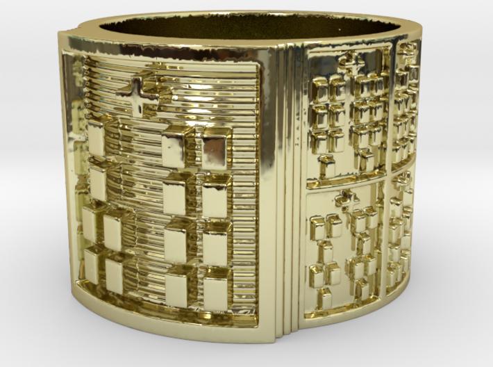 OYEKUNNIROSO Ring Size 14 3d printed