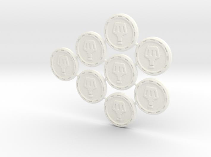 Descent Elixir tokens - LoR (8 pcs) 3d printed