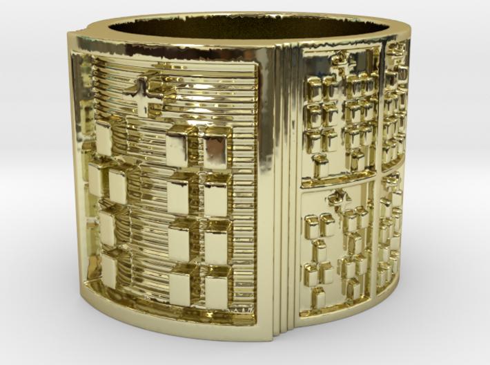 OYEKUNTESIA Ring Size 11-13 3d printed