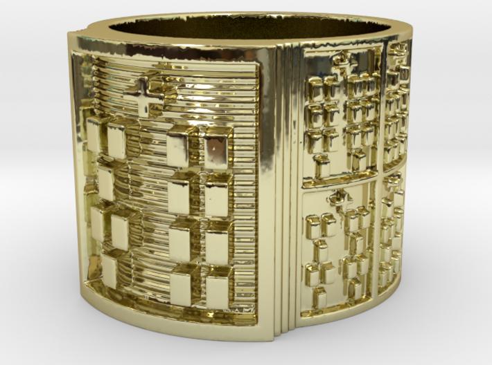 OYEKUNBEDURA Ring Size 11-13 3d printed