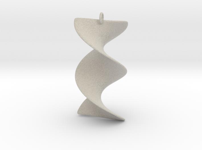 Elegant Z-DNA 3d printed