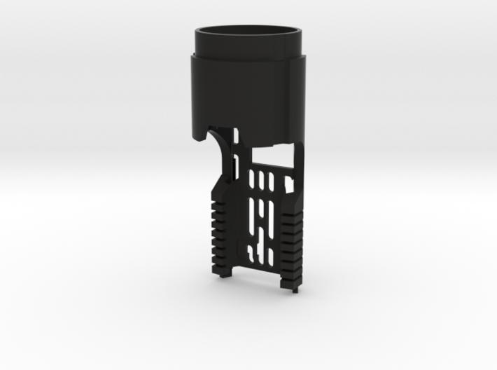 Korbanth DV6 Main Chassis - CF/PC (FF Speaker) 3d printed
