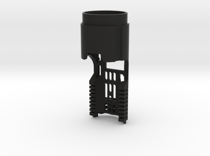 Korbanth DV6 Main Chassis - Prizmv4 (FF Speaker) 3d printed