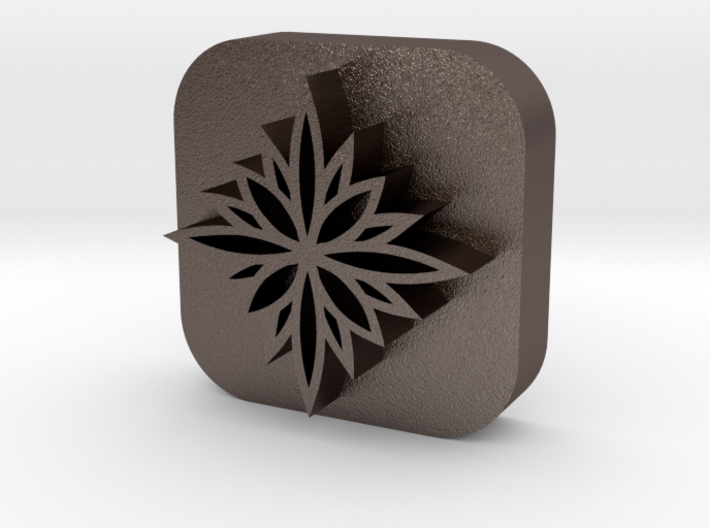 Flower-stamp-2 3d printed