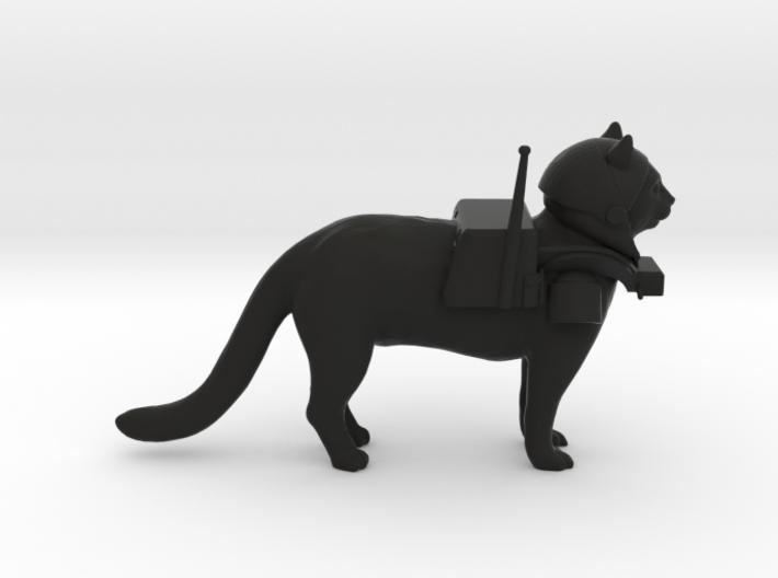 Space Cat 3d printed