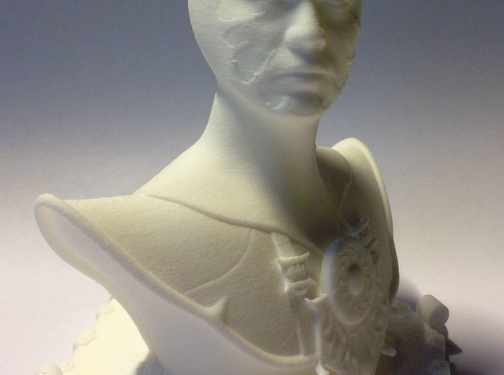 Buste of a Mage 3d printed