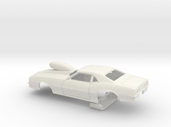 1/12 Pro Mod 68 Camaro With Scoop 3d printed